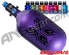 HK Army Metallic Series Aerolite Air System w/ Pro Adjustable Regulator - 68/4500 - Purple