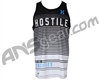 HK Army Lined Up Dri Fit Tank Top - Black/White