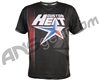 HK Army Houston Heat Dri Fit T-Shirt - Stacked