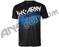 HK Army Tech Blue Dri Fit T-Shirt
