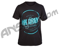 HK Army Glitch Paintball T-Shirt - Black Heather