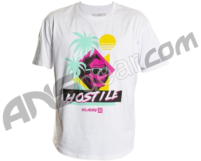 HK Army Hostile Nights Paintball T-Shirt - White