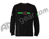 HK Army Long Sleeve Neon I Paintball T-Shirt - Black