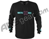 HK Army Long Sleeve OG Paintball T-Shirt - Black/Teal/Pink