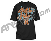 HK Army Melted Paintball T-Shirt - Black