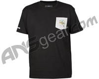 HK Army Quicksand Pocket Paintball T-Shirt - Black