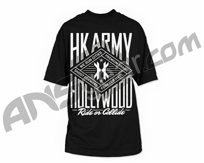 HK Army Ride or Collide Paintball T-Shirt - Black
