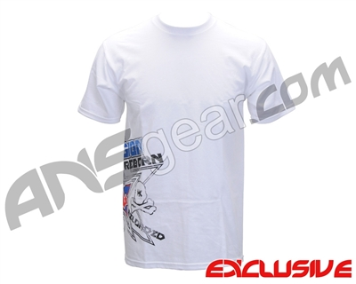 HK Army Russian Legion Reloaded Paintball T-Shirt - White