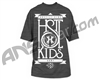 HK Army Stacked Paintball T-Shirt - Charcoal