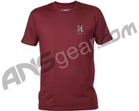 HK Army Storm Paintball T-Shirt - Burgundy