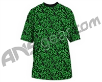 HK Army Typeface All Over Paintball T-Shirt - Neon