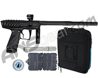 HK Army VCOM Ripper Paintball Gun - Black/Black w/ Acculock Barrel