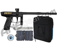 HK Army VCOM Ripper Paintball Gun - Black/Black w/ Gold Engine
