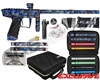HK Army VCOM Ripper Paintball Gun w/ Matching Acculock Barrel Kit - Blue Moon