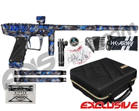 HK Army VCOM Ripper Paintball Gun - Blue Moon w/ XV Barrel Kit
