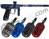 HK Army VCOM Ripper Paintball Gun w/ FREE Aerolite 68/4500 Tank w/ Std Reg - Blue Moon