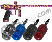 HK Army VCOM Ripper Paintball Gun w/ FREE Aerolite 68/4500 Tank w/ Std Reg - Crown Royal