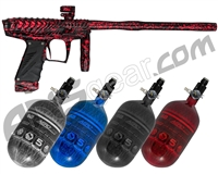 HK Army VCOM Ripper Paintball Gun w/ FREE Aerolite 68/4500 Tank w/ Std Reg - Midnight Murder