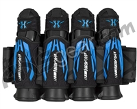 HK Army Zero-G 2.0 4+3+4 Paintball Harness - Black/Blue