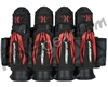 HK Army Zero-G 2.0 4+3+4 Paintball Harness - Black/Red