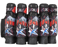 HK Army Zero-G 5+4+4 Paintball Harness - Houston Heat