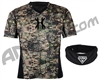 HK Army Crash Chest Protector w/ Free Black HSTL Neck Protector - Camo