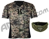 HK Army Crash Chest Protector w/ Free Olive HSTL Neck Protector - Camo