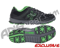 HK Army Shredder Cleats - Black Lime