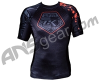 Contract Killer Short Sleeve Stained Rashguard - Black