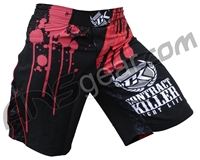 Hybrid Contract Killer Stained Shorts - Black
