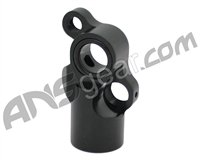 Inception Designs Mini Front Block w/ Integrated Vertical ASA - Polished Black (CGP-0021-PB)