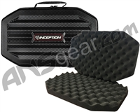 Inception Designs Carbon Fiber Gun Case w/ Egg Crate Foam - Large