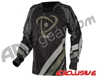 Inception Designs Nanomesh FLE Paintball Jersey - Charcoal