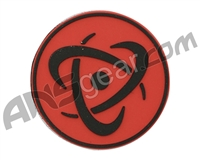 Inception Designs Rubber Insert Patch - Black/Red/Black