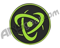 Inception Designs Rubber Insert Patch - Lime/Black/Lime