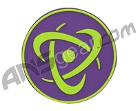 Inception Designs Rubber Insert Patch - Lime/Purple/Lime