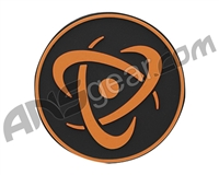 Inception Designs Rubber Insert Patch - Orange/Black/Orange