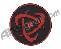 Inception Designs Rubber Insert Patch - Red/Black/Red