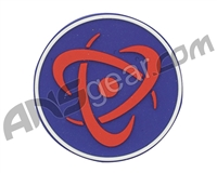 Inception Designs Rubber Insert Patch - Red/Blue/White