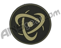 Inception Designs Rubber Insert Patch - Tan/Black/Tan