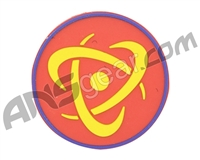 Inception Designs Rubber Insert Patch - Yellow/Red/Blue