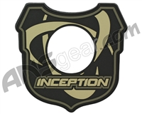 Inception Designs Rubber Shoulder Patch - Camo Earth Tones