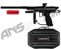Inception Designs Retro Hornet Full Body Autococker Paintball Gun - Black/Black