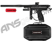 Inception Designs Retro Hornet Mini Body Autococker Paintball Gun - Black/Black