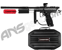 Inception Designs Retro Hornet Pump Paintball Gun - Black/Black