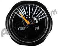 Invert 600 PSI Micro Gauge - Black (46097)