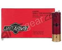 JAG Arms Scattergun Shell Gas Type Magazine - 6 Pack