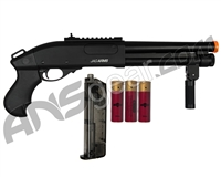 Jag Arms Scattergun Super CQB Gas Airsoft Shotgun - Black