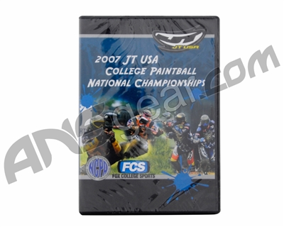 2007 JT USA College Paintball National Championship DVD