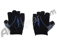 JT Youth Fingerless Paintball Gloves - Blue